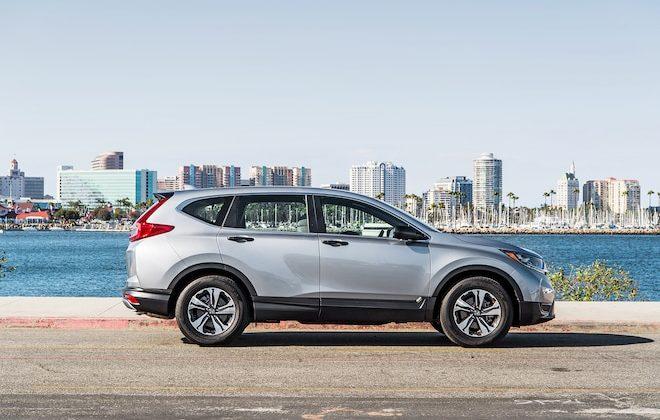 Honda CR-V LX 2018 – dinámicas de manejo